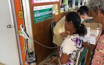 This UK Aid Project Trains Volunteers to Detect Diabetes With an App in Rural Thailand
