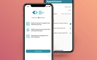 Novartis works with app maker to help eye patients 'See What's Next'