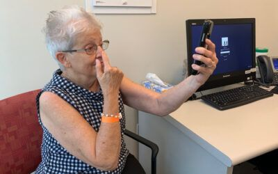 Smartphone Test for Quick Stroke Diagnosis