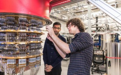 Google's quantum computing division will help develop new drugs