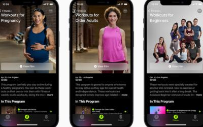 Apple Fitness+ creates new programs for pregnant people and seniors