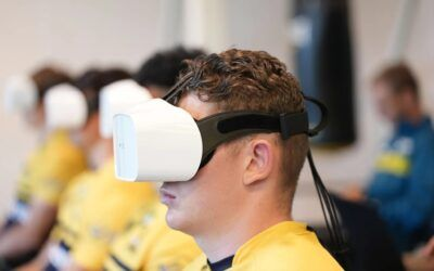 Rugby organisations trial VR eye-tracking tech for detecting concussions