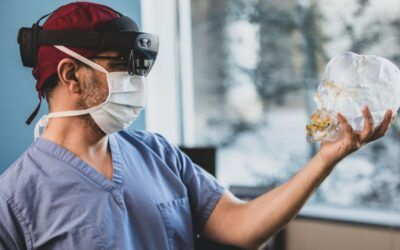 Surgeon and researcher innovate with mixed reality and AI for safer surgeries
