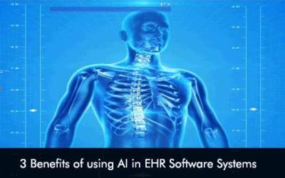 3 Benefits of using AI in EHR Software Systems