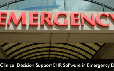 4 Benefits of Clinical Decision Support EHR Software in Emergency Departments